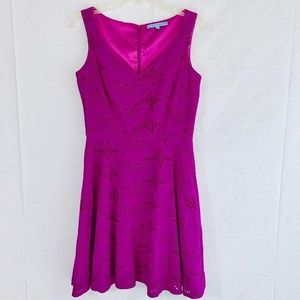 Antonio Melani Fuchsia Pint Sleeveless Dress